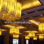 Luminescent Stone Lighting in the ceilling