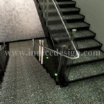 Innice River Pebble Stone Stair