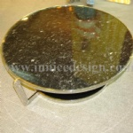 Innice River Pebble Stone table top solid surface
