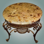 Innice River Pebble Stone Counter Top Table Top Furniture