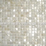 Shell mosaic interior background wall decoration